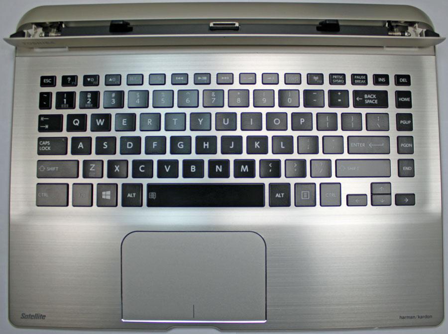 Toshiba Satellite Click 2 Pro P35W-B3220 Laptop Keyboard ...