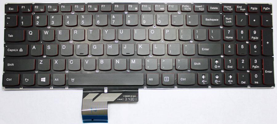 Lenovo Ideapad Y700 Series Y700-17ISK Laptop Keyboard