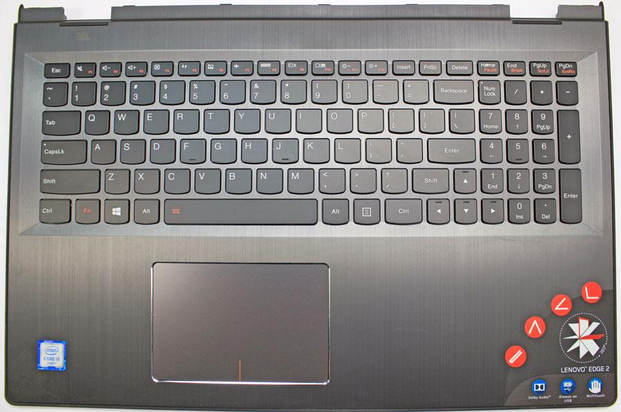 Lenovo Edge 2 2-1580 80QF Laptop Keyboard Installation Video Guide