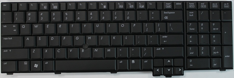 how to change keyboard hp 6930p