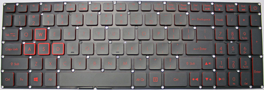 how to remove a acer laptop keyboard